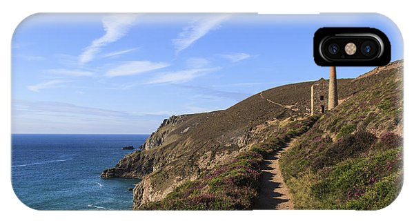 Chapel Porth Cornwall IPhone Case
