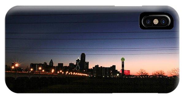 City Of Dallas Phone Case by Tinjoe Mbugus