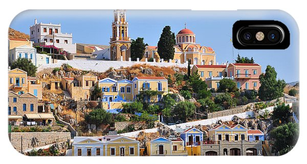 Colorful Symi IPhone Case