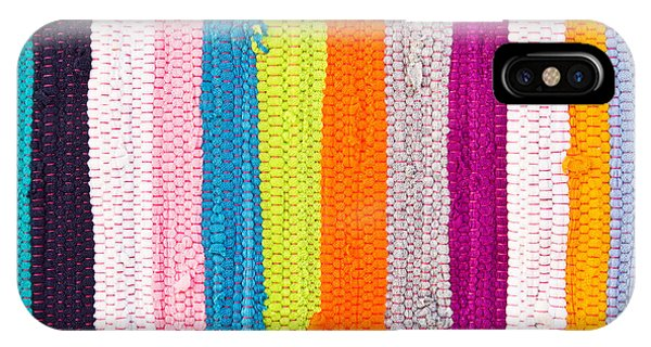 Festival iPhone Case - Colorful Textile by Tom Gowanlock
