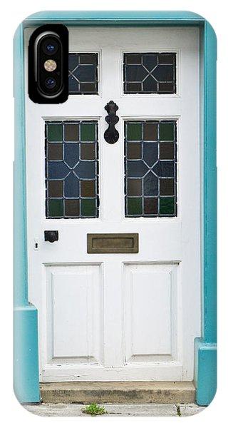 Home iPhone Case - Front Door by Tom Gowanlock