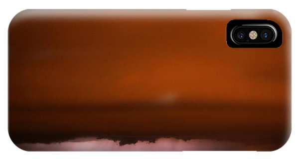 iPhone Case - Late Night Nebraska Shelf Cloud by NebraskaSC