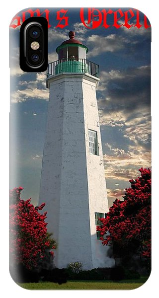 Fred Hampton iPhone X Case - Lighthouse by Fred Habit