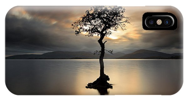 Loch Lomond Sunset IPhone Case