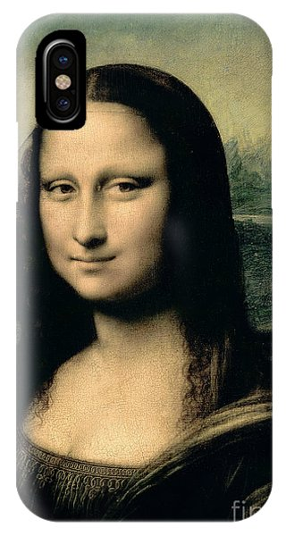 Italy iPhone Case - Mona Lisa by Leonardo Da Vinci