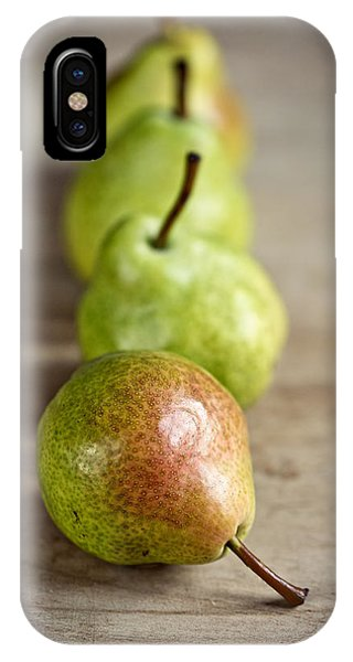 Ripe iPhone Case - Pears by Nailia Schwarz
