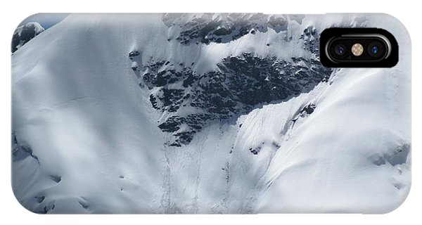 Peru Mountain Snow IPhone Case