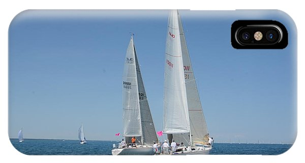 Sailboat Race IPhone Case