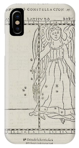 Constellations iPhone Case - Star Constellations And Heavenly Bodies by British Library
