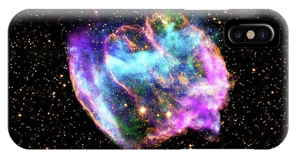 Infrared Radiation iPhone Case - Supernova Remnant by Nasa