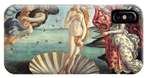 iPhone Case - The Birth Of Venus by Sandro Botticelli