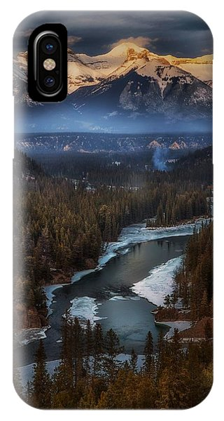 River iPhone Case - Untitled by Atul Chopra