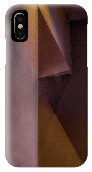 Angle iPhone X Case - Untitled by Inge Schuster