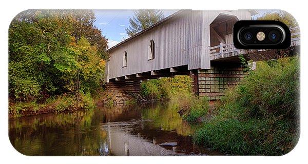 Usa, Oregon, Scio, Hoffman Bridge Photograph By Rick A Brown
