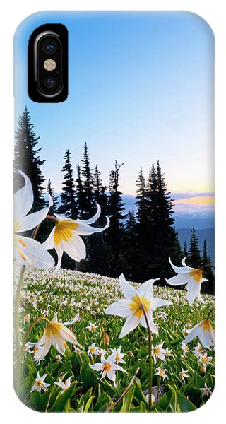 Lilly iPhone Case - Usa, Washington State, Olympic National by Gary Luhm
