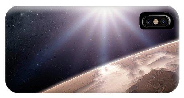 Valles Marineris Phone Case by Detlev Van Ravenswaay