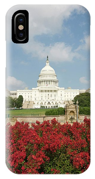 Capitol Building iPhone Case - Washington Dc, Usa by Lee Foster