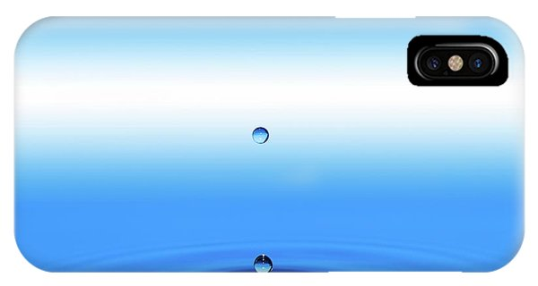 Well Being iPhone Case - Water Droplet by Wladimir Bulgar