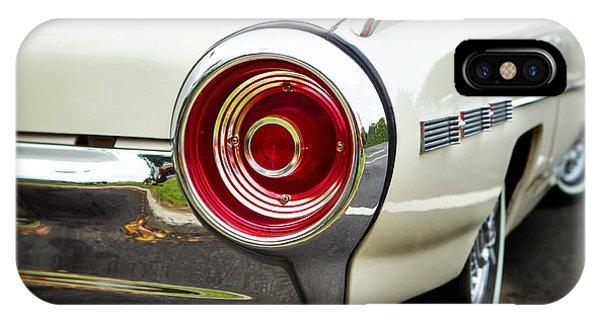 62 Thunderbird Tail Light IPhone Case