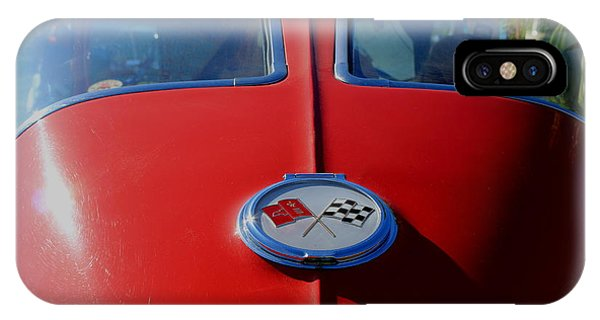 63 Split Window Vette IPhone Case