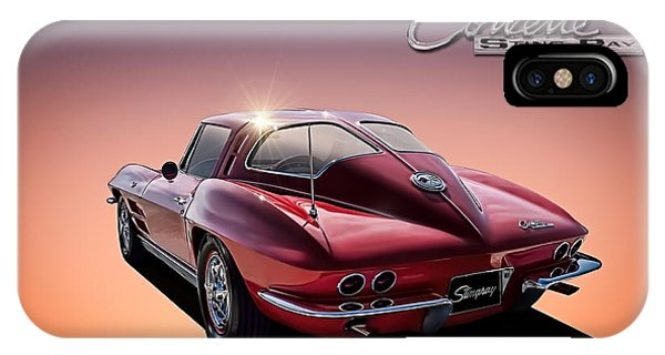 Chevrolet iPhone Case - '63 Stinger by Douglas Pittman
