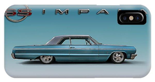 Mancave iPhone Case - '64 Impala Ss by Douglas Pittman