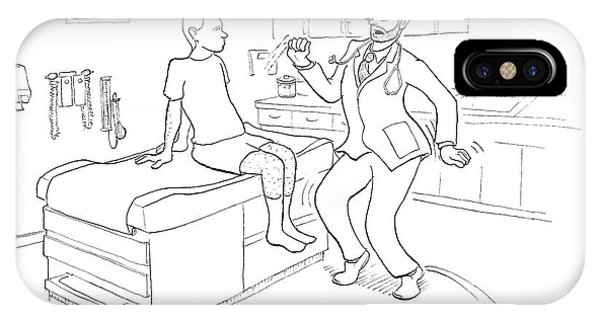 Dance iPhone Case - Do You Find It Painful When I Get Funky? by Paul Noth