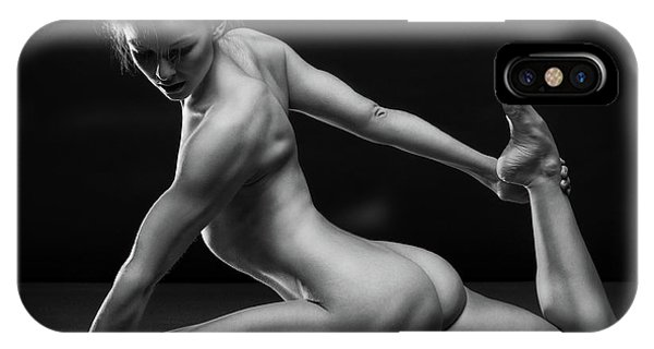Nude iPhone Case - Bodyscape by Anton Belovodchenko