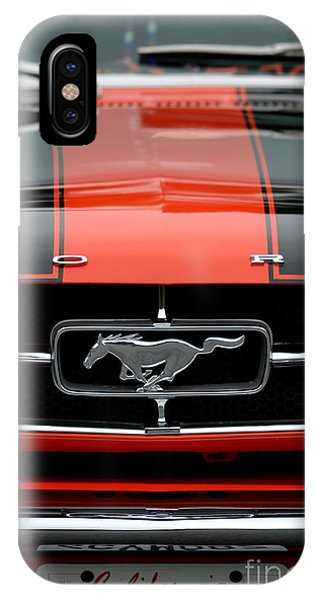 65 Mustang IPhone Case