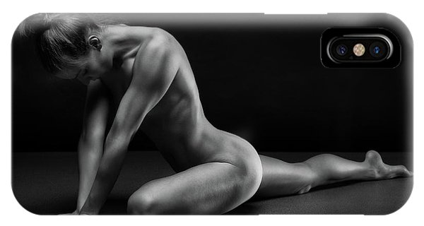 Pose iPhone Case - Bodyscape by Anton Belovodchenko