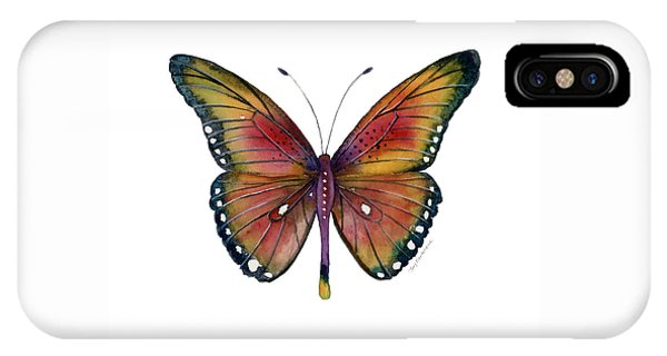 66 Spotted Wing Butterfly IPhone Case
