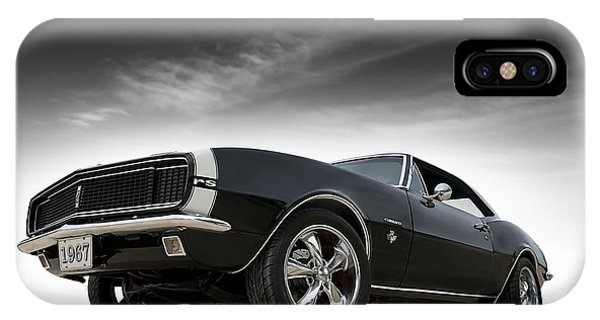 Chevrolet iPhone Case - '67 Camaro Rs by Douglas Pittman
