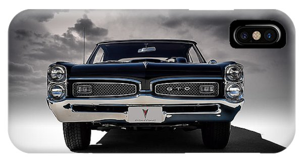 Vintage iPhone Case - '67 Gto by Douglas Pittman