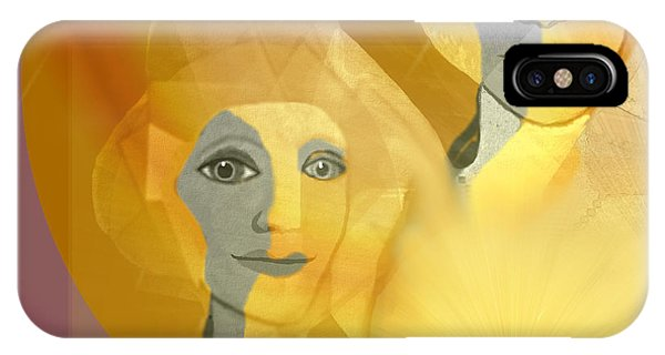 679 - A  Candlelight Meeting IPhone Case