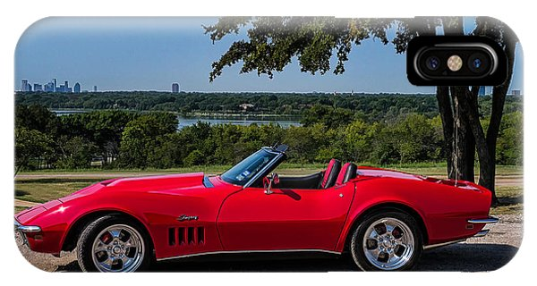 Chevrolet iPhone Case - '69 Stingray by Douglas Pittman