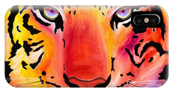6983 Tiger IPhone Case