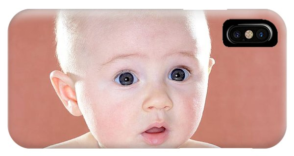 Baby Girl Phone Case by Ruth Jenkinson/science Photo Library