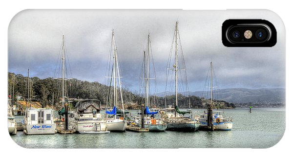 7 Boats In A Row IPhone Case