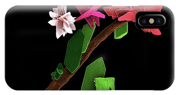 Brushite Crystals Phone Case by Kseniya Shuturminska / Science Photo Library