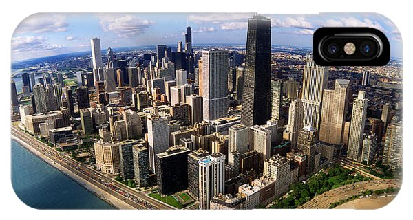 John Hancock Center iPhone Case - Chicago Il by Panoramic Images