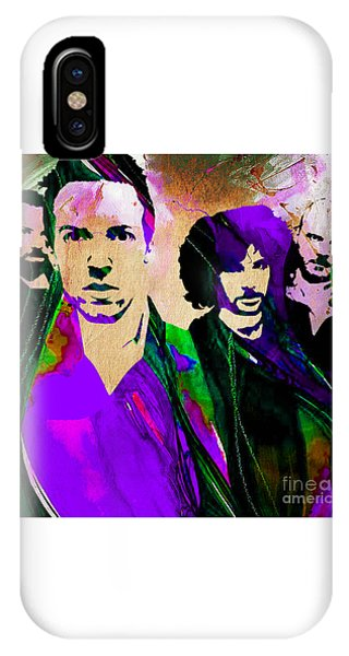 Coldplay iPhone Case - Coldplay Collection by Marvin Blaine
