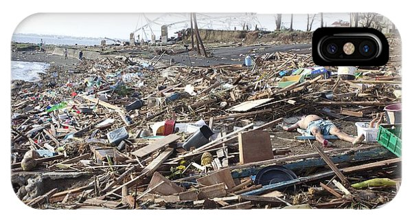 Destruction After Super Typhoon Haiyan IPhone Case