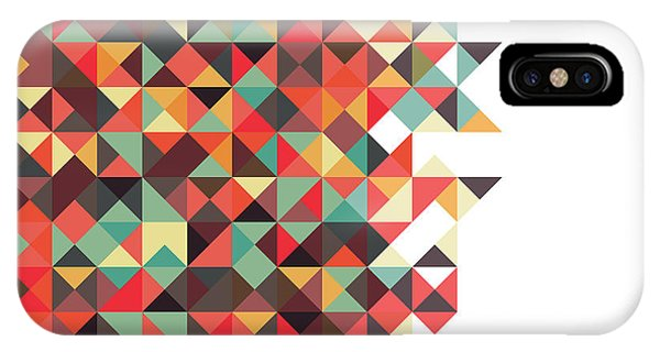 Geometric iPhone Case - Geometric Art by Mike Taylor