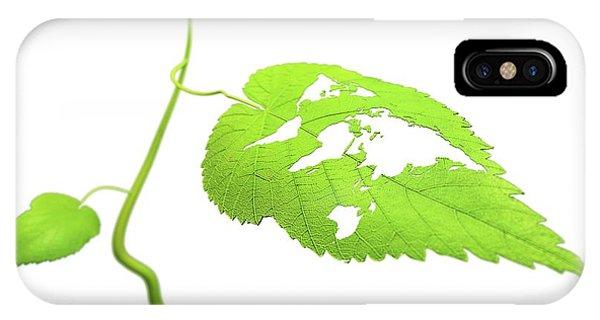 Green Planet Phone Case by Andrzej Wojcicki/science Photo Library