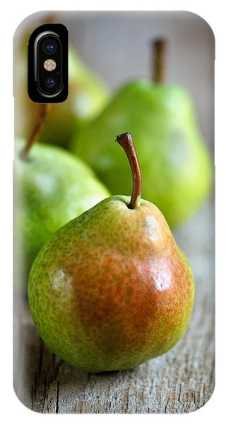 Pear iPhone Case - Pears by Nailia Schwarz