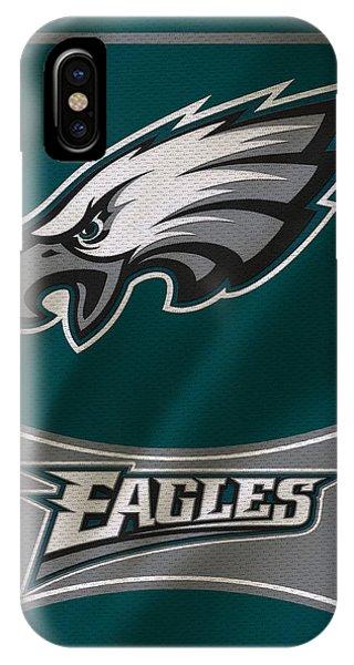 Iphone 4 iPhone Case - Philadelphia Eagles Uniform by Joe Hamilton