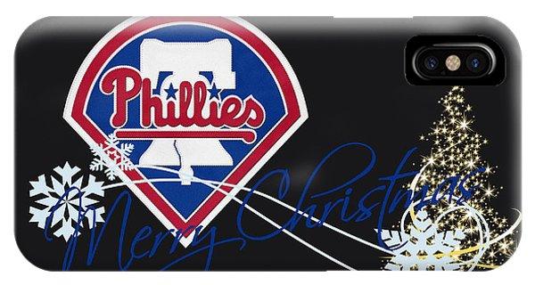 Philadelphia Phillies Stadium iPhone Case - Philadelphia Phillies by Joe Hamilton