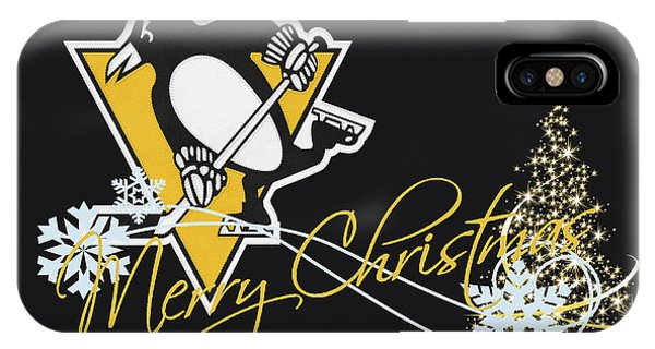 Penguin iPhone Case - Pittsburgh Penguins by Joe Hamilton