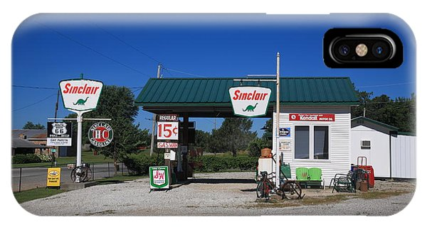Route 66 Sinclair Station IPhone Case