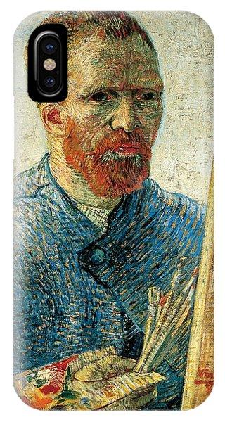 Van Gogh Museum iPhone Case - Self Portrait by Vincent van Gogh